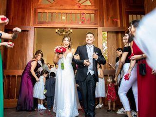 El matrimonio de Caterin y Ignacio