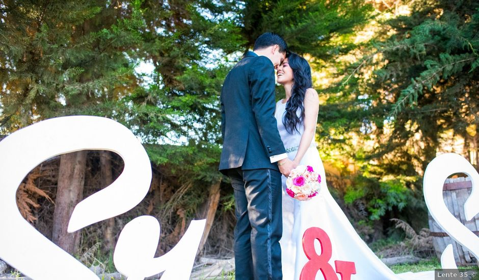 El matrimonio de Felipe y Sarai en La Serena, Elqui