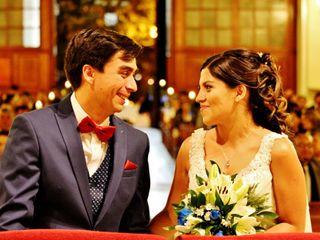 El matrimonio de Isabel y Victor