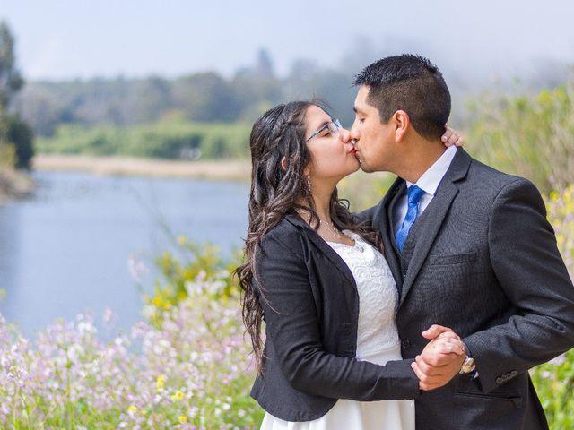 El matrimonio de Claudio  y Geraldine