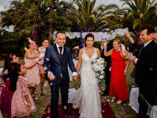 El matrimonio de Selva y Cristian