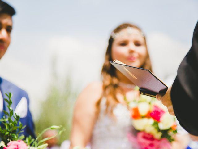El matrimonio de Catalina y Héctor