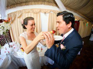 El matrimonio de Alejandra y Victor