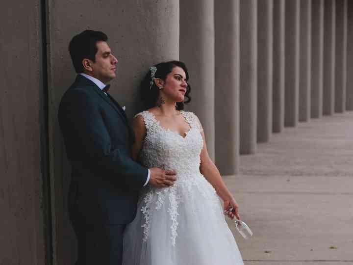 El matrimonio de Fernanda y Francisco