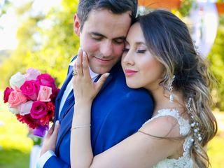 El matrimonio de Katherine  y Christian