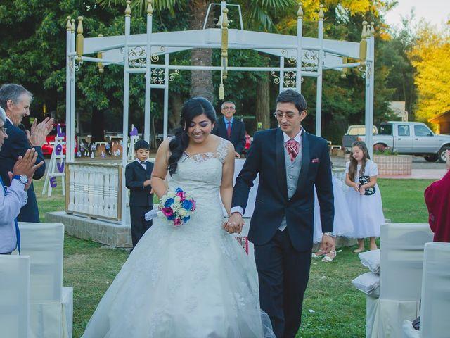 El matrimonio de Damaris y Hector Andres