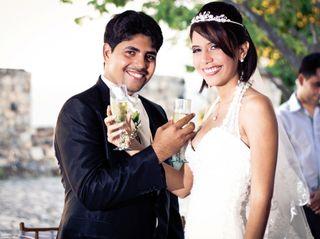 El matrimonio de Delimar y Víctor