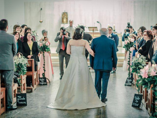 El matrimonio de Andrés y Cecy en San Bernardo, Maipo 9