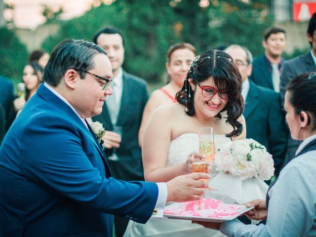El matrimonio de Andrés y Cecy en San Bernardo, Maipo 21