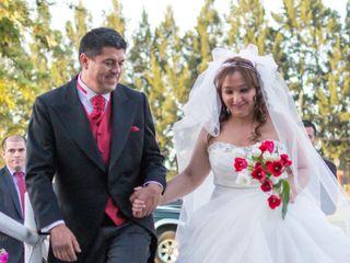 El matrimonio de Eunice y Rodrigo