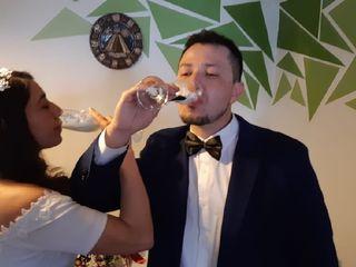 El matrimonio de Kimberlyn y Alberto
