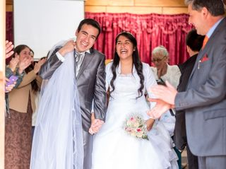 El matrimonio de Solange y Gerson