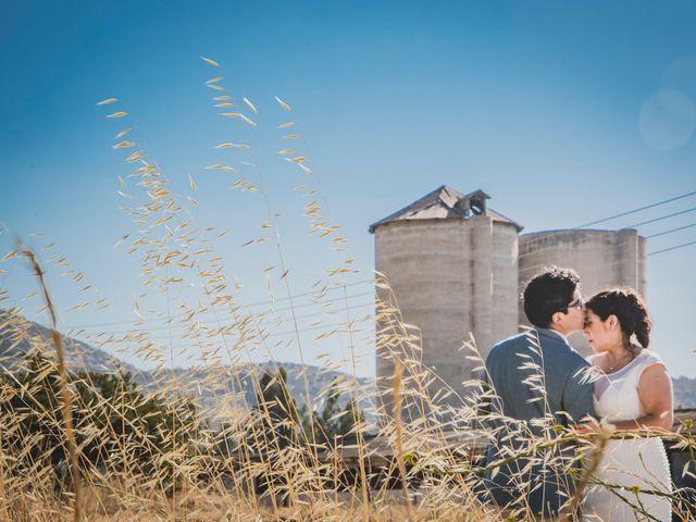El matrimonio de Francisca y Óscar