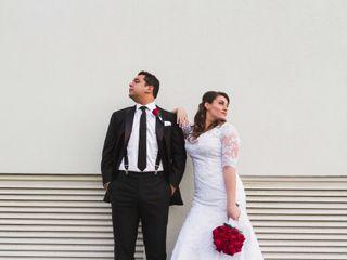 El matrimonio de Claudia y Renzo