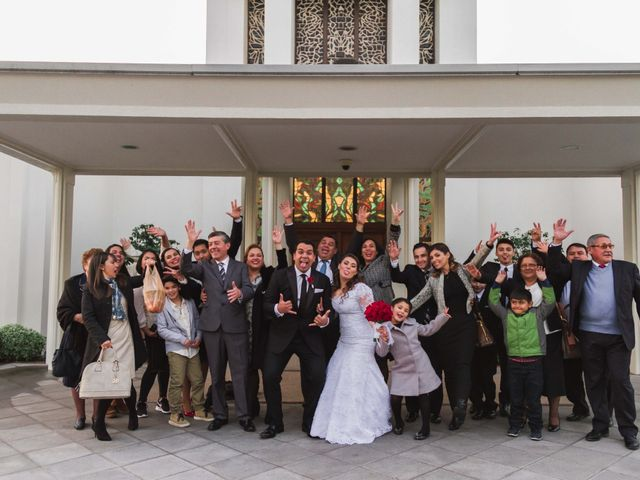 El matrimonio de Renzo y Claudia en Santiago, Santiago 7