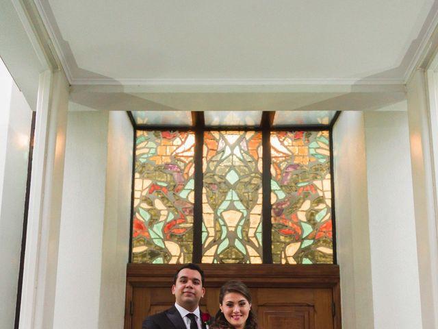 El matrimonio de Renzo y Claudia en Santiago, Santiago 9