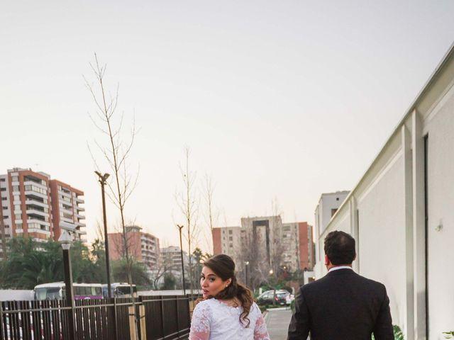 El matrimonio de Renzo y Claudia en Santiago, Santiago 21