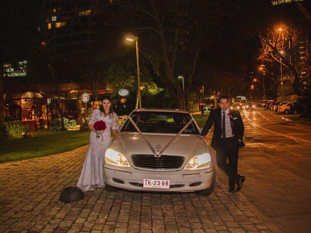 El matrimonio de Renzo y Claudia en Santiago, Santiago 30