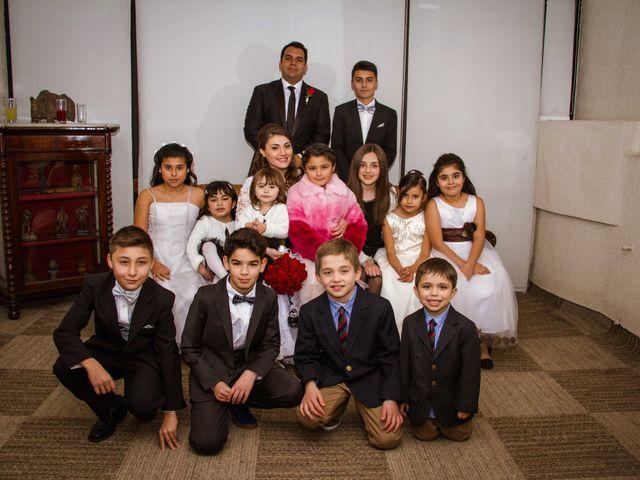 El matrimonio de Renzo y Claudia en Santiago, Santiago 54