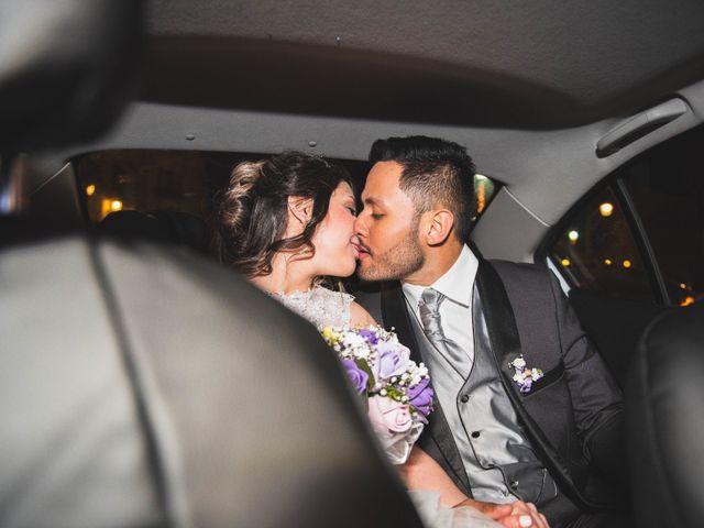 El matrimonio de Arianny y Sergio