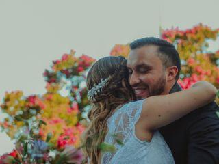 El matrimonio de Yenny y Franco