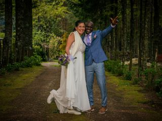 El matrimonio de Mónica y Younoussa