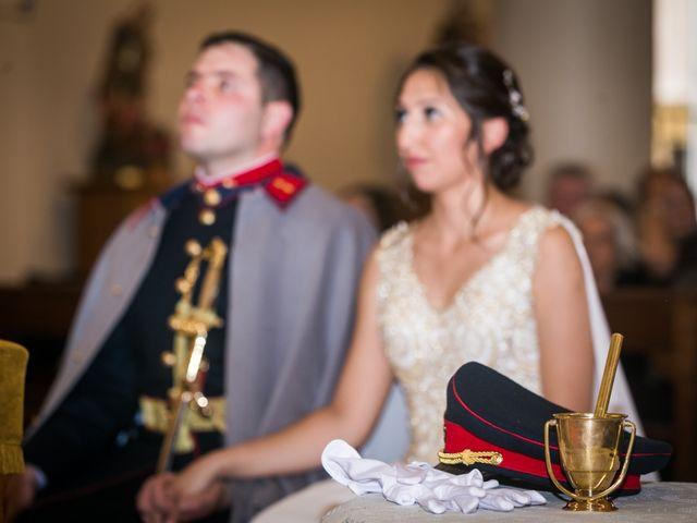 El matrimonio de Carolina y Valentín