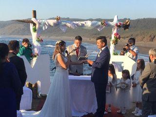 El matrimonio de Rolando  y Marcela