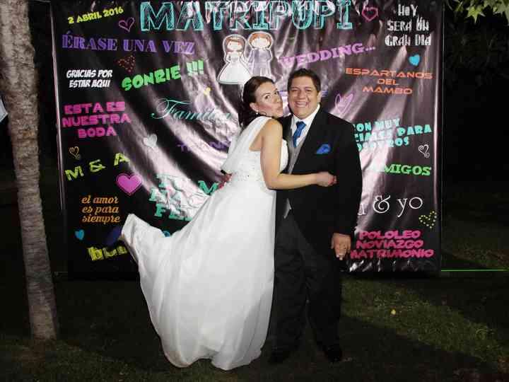 El matrimonio de Mireya y Alejandro
