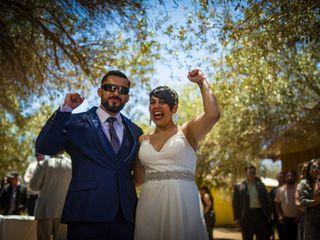 El matrimonio de Jocelyn y Simon