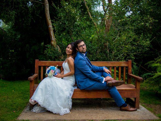 El matrimonio de Constanza y Agustín