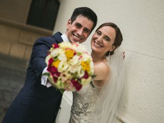El matrimonio de Guiselle y Jorge