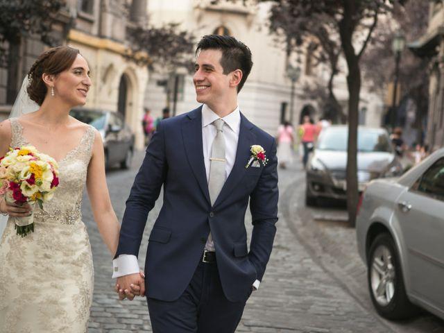 El matrimonio de Jorge y Guiselle en Colina, Chacabuco 1