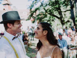 El matrimonio de Gabriela y Forrest