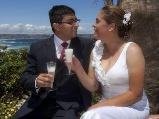 El matrimonio de Ruth y Alberto
