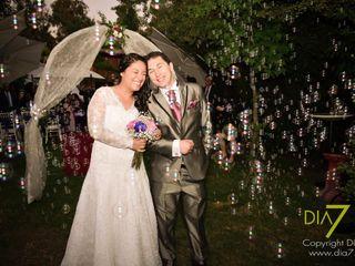 El matrimonio de Vanessa y Ricardo