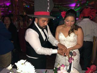 El matrimonio de Solange y Carlos 1