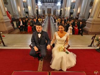 El matrimonio de rosario y luis