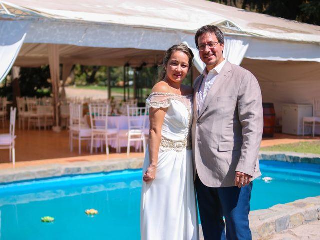 El matrimonio de Carolina y Martín