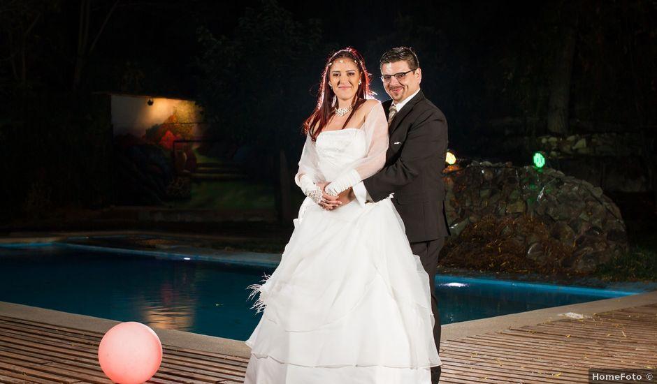 El matrimonio de Jorge y Carmen en San José de Maipo, Cordillera