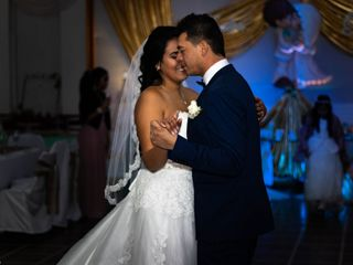 El matrimonio de Marcela y Farouk