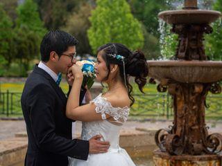 El matrimonio de Yasna y Bastian