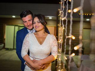 El matrimonio de Elizabeth y Erick