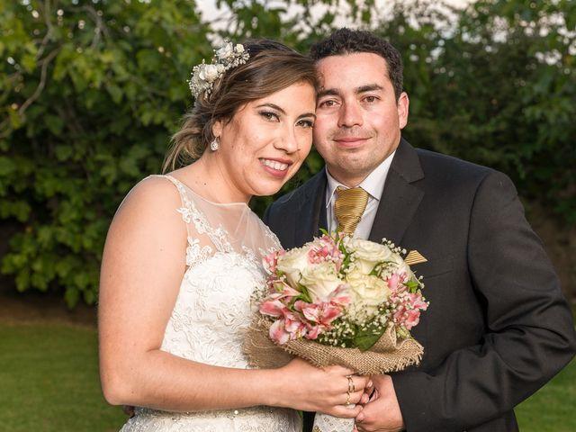 El matrimonio de Bárbara y Cristopher