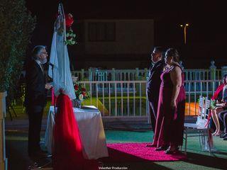 El matrimonio de Jorge y Claudia