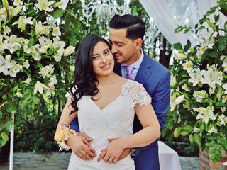 El matrimonio de Ivonne y Mauricio