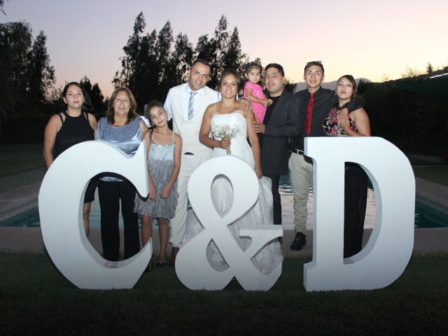El matrimonio de Danny y Cecilia en Lampa, Chacabuco 72