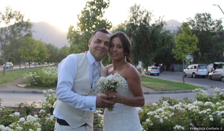 El matrimonio de Danny y Cecilia en Lampa, Chacabuco