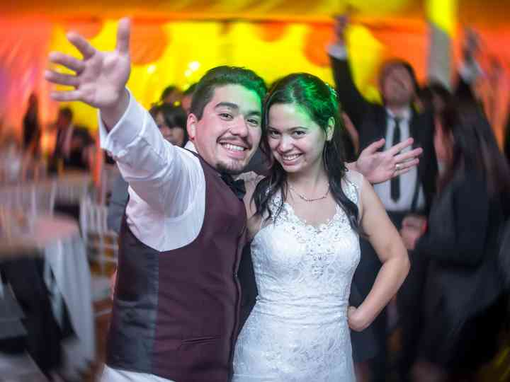 El matrimonio de Marion y Miguel