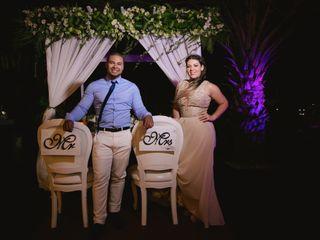 El matrimonio de Karina y Anthony